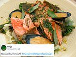 MasterChef The Professionals contestant's MUSSEL hummus is branded 'hellish' by viewers