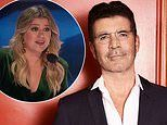 Simon Cowell thanks Kelly Clarkson for filling in for him on America's Got Talent's judging panel