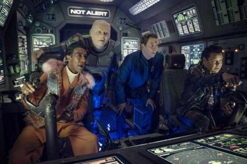 Red Dwarf special is Dave's highest-rated show in seven years