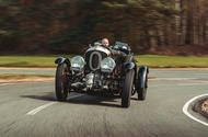 Blast in the past: reborn Bentley Blower Continuation driven