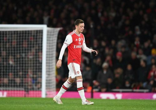Mesut Ozil sends defiant message to Mikel Arteta over Arsenal future