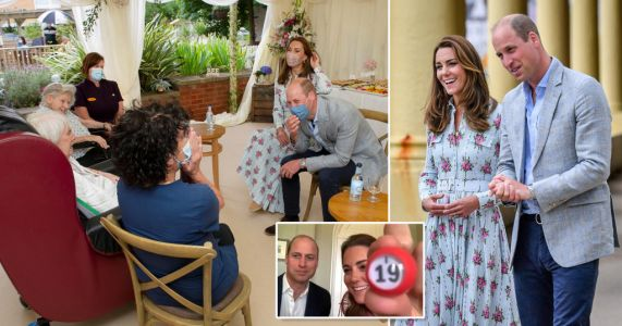 Son 'upset' Kate and William visited care home before he could