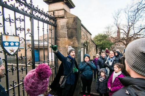 Harry Potter fans can take virtual Zoom tour of wizard's trail in Edinburgh