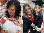Teen mother who gave birth at 14 reveals her joy at graduating at 21 - with her daughter by her side