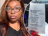 Restaurant worker fired after writing 'Black b*****s in silver car' on customer's receipt