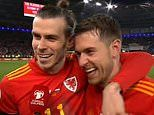Gareth Bale pokes fun at Aaron Ramsey's lack of action in Euro qualifying campaign