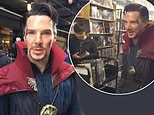 Benedict Cumberbatch stuns fans by visiting a comic book shop dressed as Doctor Strange