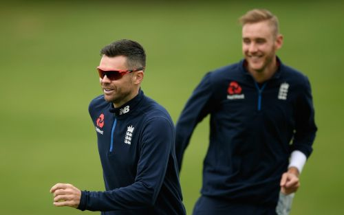 Stuart Broad and James Anderson winning fitness races for first England vs India first Test match