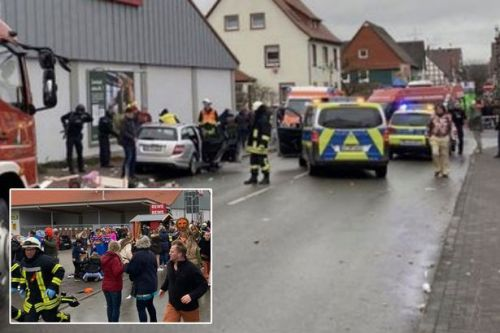 Germany carnival crash: '15 injured' as car 'deliberately' ploughs into crowd