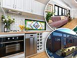 Inside the tiny house that sold in just THREE HOURS after owners listed it on Facebook