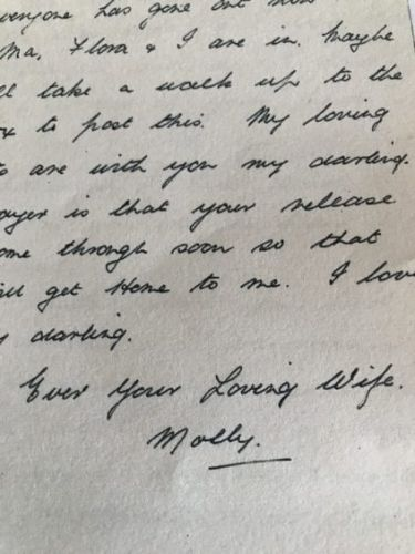 The letter which sums up the joy, love, relief and grief which surrounded VE Day in the north-east