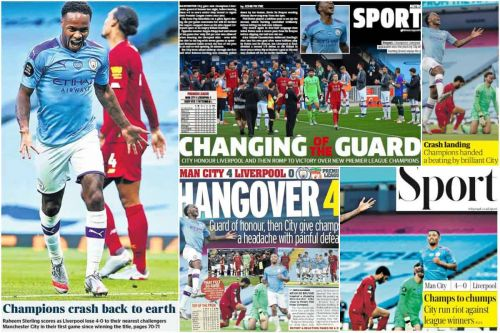 """""""Awesome"""" title win highlighted as Reds receive complacency reminder - Media on Man City 4-0 Liverpool"""