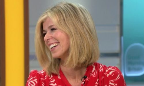 Kate Garraway returns to Good Morning Britain in the most beautiful silk L.K.Bennett dress