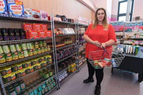West Lothian drop-in centre offering cut-price food to locals