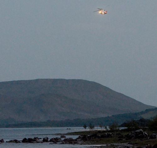 Body of boy, 5, found in lake in Ireland after he vanished when falling from inflatable