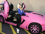 Pink cars grow more popular among UK drivers joining the likes of Paris Hilton and Nicki Minaj