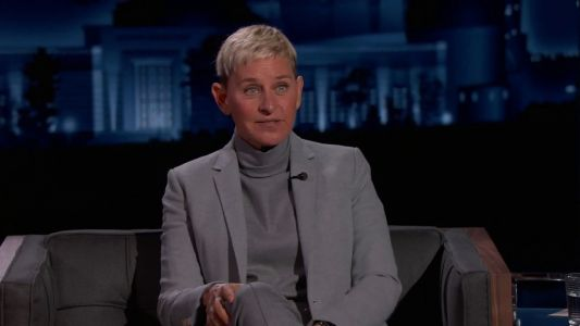 Jimmy Kimmel fails to ask Ellen DeGeneres about 'toxic' workplace scandal during televised interview