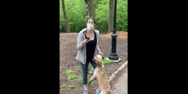 Investment firm suspends woman over racially-charged video of her calling police on a black man who told her to put her dog on a leash