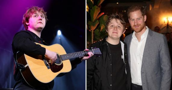 Lewis Capaldi gets chummy with Prince Harry amid whole royal exit palaver