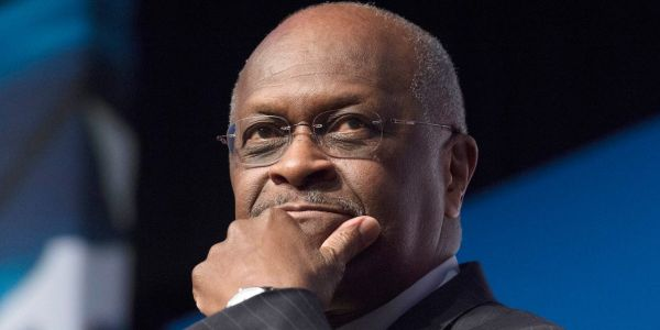 Former Republican presidential candidate Herman Cain is hospitalized with the coronavirus