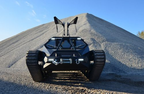 Kanye West drives this $500,000 high-performance tank around his Wyoming ranch - take a closer look at the Ripsaw EV2