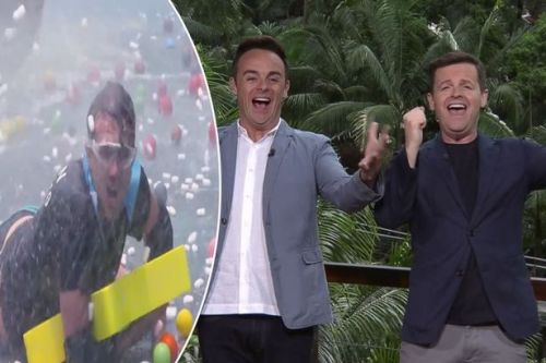 I'm A Celebrity campmates take part in Celebrity Cyclone challenge - and viewers can't get enough