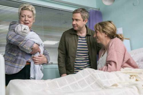 When is Martin Freeman's Sky comedy Breeders on TV?