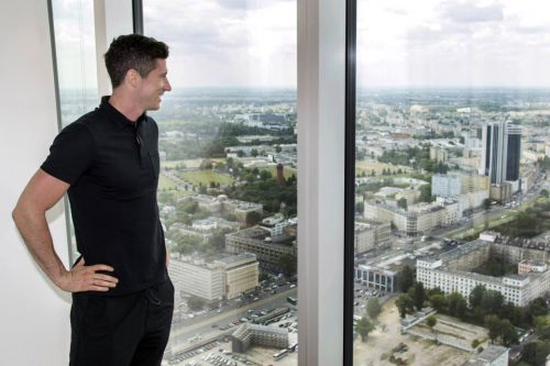 Inside Bayern Munich star Robert Lewandowski's luxurious £7million apartment in native Poland with a golf simulator