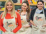 Carol Vorderman and Scarlett Moffatt lead a host of famous faces in The Great British Bake Off