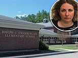 Elementary school principal, 44, is fired after 'leading cops on a 110mph car chase while drunk'