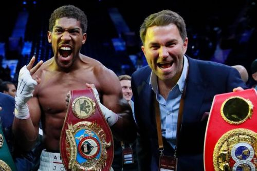 Eddie Hearn makes Anthony Joshua undisputed champion promise after Andy Ruiz Jr rematch