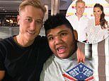 Katie Price's ex-fiancé Kris Boyson wishes her son Harvey, 18, a 'speedy recovery' amid ICU stint