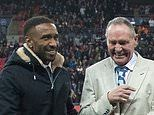 Paul Gascoigne, Wayne Rooney and Co paraded on Wembley turf as England celebrate 1000th game