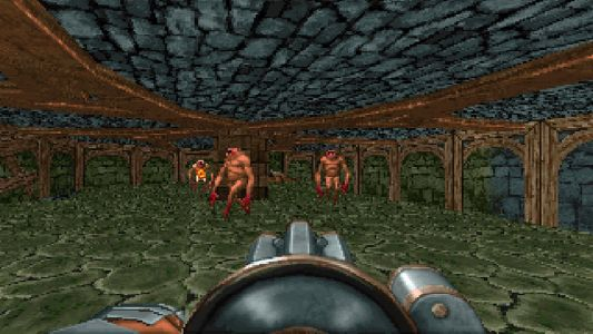 This Doom mod gives the shooter a taste of Skyrim
