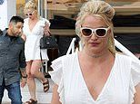 Britney Spears steps out of treatment facility for afternoon yogurt run after breaking silence