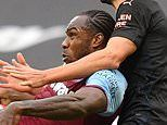 West Ham 1-1 Manchester City - PLAYER RATINGS: Michail Antonio led the line courageously