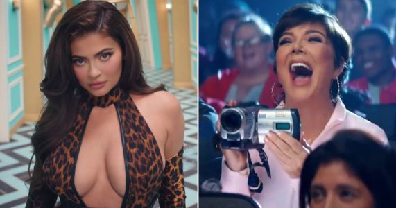 Kris Jenner turns into Mean Girls mum again taking pics of Kylie Jenner and Cardi B on WAP set