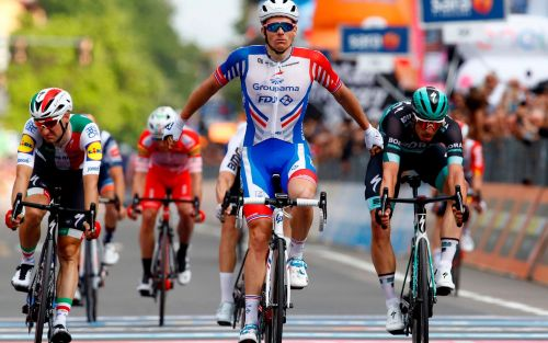 Giro d'Italia 2019, stage 10 results and standings: Arnaud Demare sprints to victory asValerio Conti retains overall lead