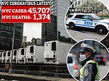 NYPD considered assigning officers to 'DOA Teams' to collect the bodies of coronavirus victims