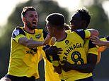 Oxford United 1-1 Portsmouth : Cameron Brannagan spot-kick fires U's to Wembley