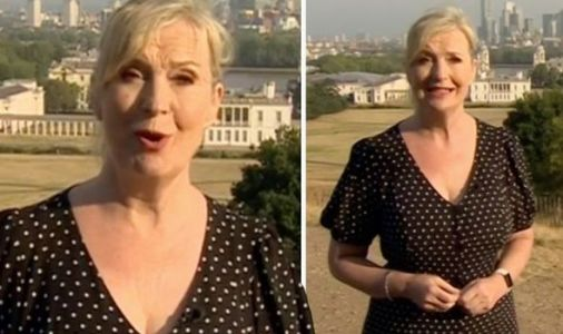 Carol Kirkwood red-faced over 'doggers' blunder live on BBC Breakfast