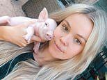 Vegan swimwear model accused of filming herself stealing a piglet from a expected to plead guilty