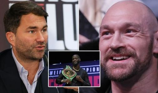 Tyson Fury coy on injury rumours following Eddie Hearn's Deontay Wilder KO prediction