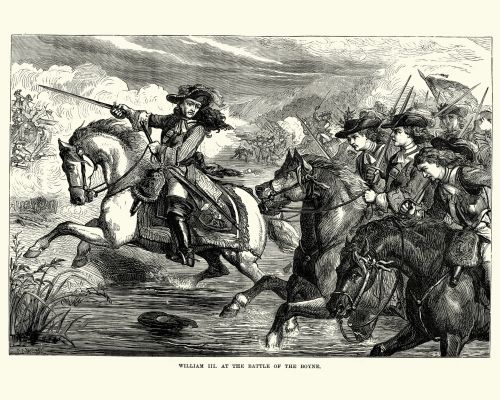 What is the Battle of the Boyne and when did it take place?