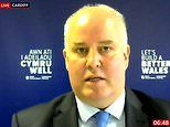 Welsh Tory leader Andrew RT Davies is mocked for 'sounding like a horse racing commentator'