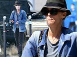 Vanessa Paradis goes for a walk in Paris as she prepares to appear during Johnny Depp's libel battle