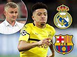 Real Madrid and Barcelona 'could enter race for Jadon Sancho next year' if United fail to sign him