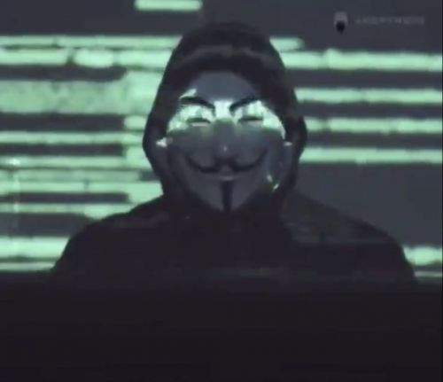 Who are Anonymous as the hacker group post a warning to the Minneapolis Police Department?