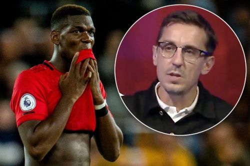 Gary Neville makes bold Paul Pogba prediction despite Man Utd star's penalty miss