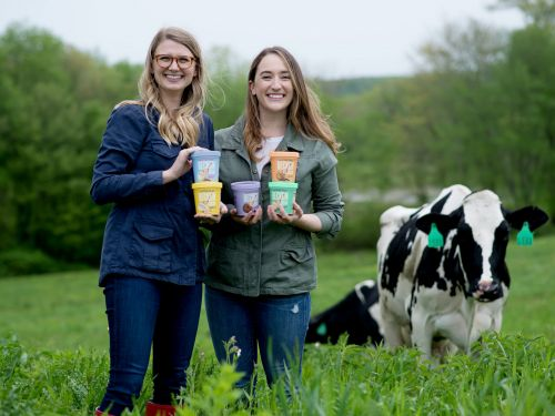 1 in 3 Americans are at risk of lactose intolerance. A pair of millennial women invented an ice cream just for them, and now their bootstrapped dessert is in 1000 stores, including Whole Foods